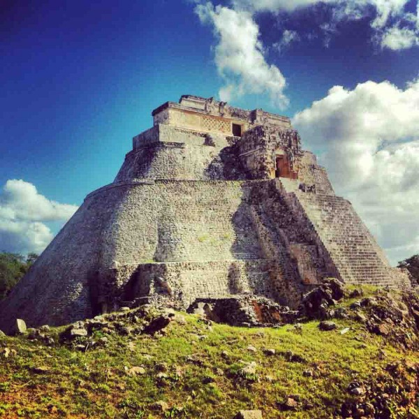 Uxmal Pyramide Yucatan