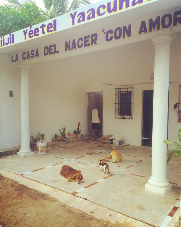 Traditionelle Maya Hebammen Reise MexikoR